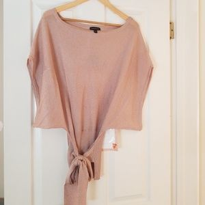 Bebe Pink Top Size S...Blush type color